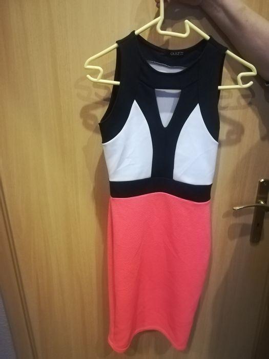 Sukienka neon, R. S, firma Quiz Grudziądz - image 1