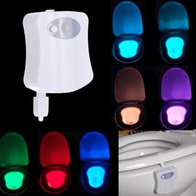 Акция!!!Подсветка для унитаза с датчиком движения Light Bowl TV0002043