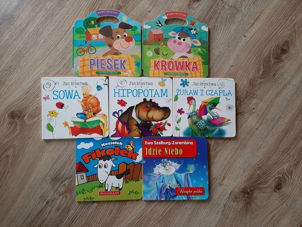 Zestaw książeczek dla małych dzieci