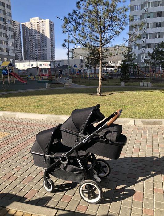 Продам коляску для двойни BabyZz Dynasty максимальной комплектации Одесса - изображение 1