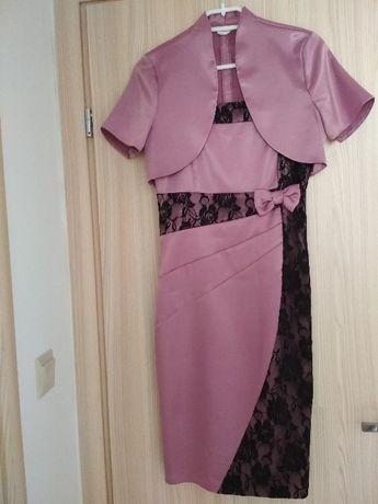 Sukienka z narzutką + gratis bluzka