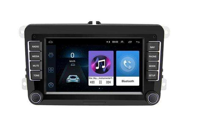 Nowe Radio Volkswagen Android 8.1 GPS WiFi Skoda Seat Kamera Dotyk USB