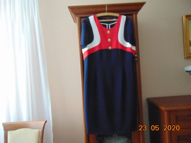 Betti- nowa sukienka granatowa 48