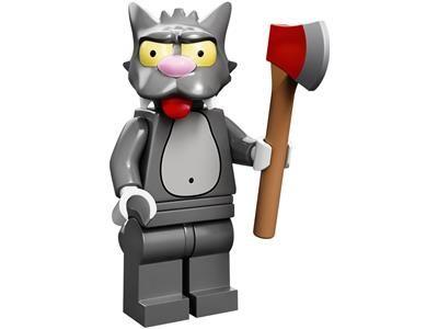 LEGO Царапка (Симпсоны) | Scratchy (The Simpsons). Оригинал.