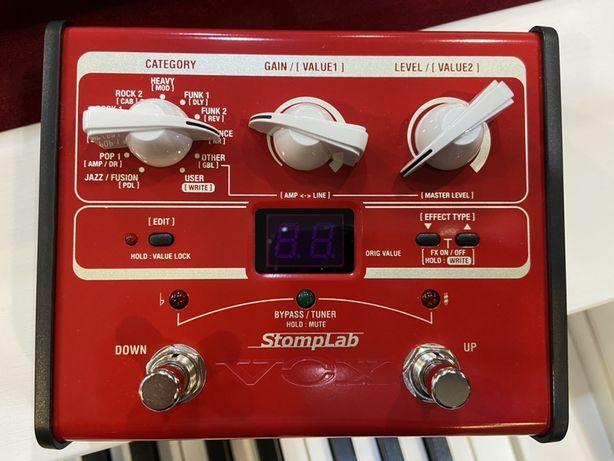 Multiefekt gitarowy , procesor gitarowy basowy VOX StompLab 1B Krys...
