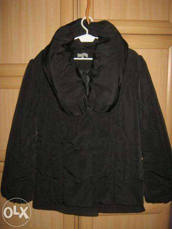 fajna czarna kurtka