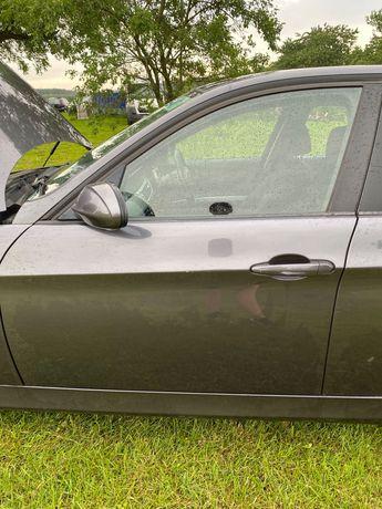 Drzwi przednie lewe BMW e90 Sparkling Graphite M