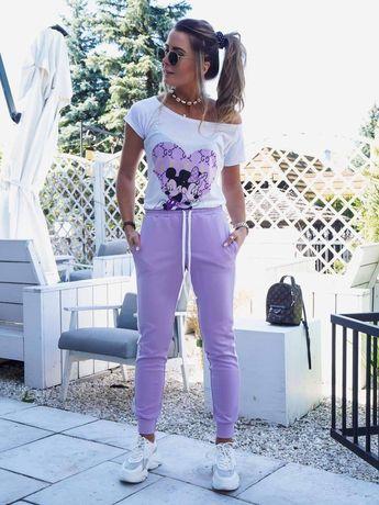 Nowy dres lila miki, cudo, uni