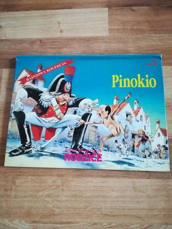 """Książka """"Pinokio"""" trójwymiarowe obrazki"""