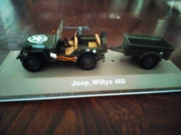 Jeep Willys MB com atrelado