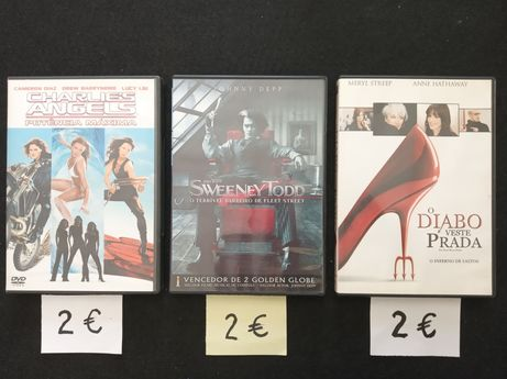 DVD's TOP - Vídeos - Filmes