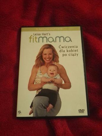 Fit mama plyta DVD z ćwiczeniami dla kobiet po ciąży Leisy Hards 60min