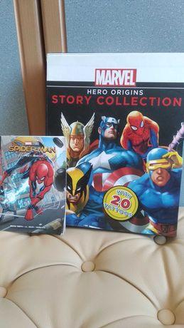 marvel hero origins story collection komiksy