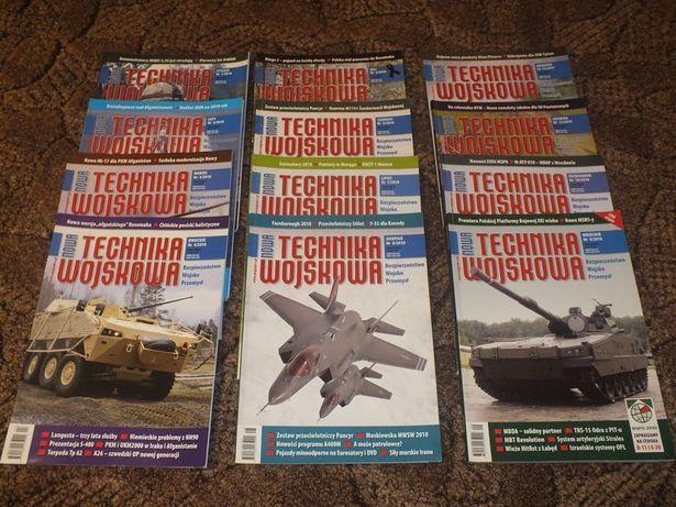 Czasopismo nowa Technika Wojskowa z lat 2004-13