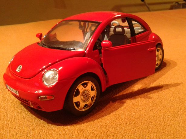 skala 1:18 VW New Beetle