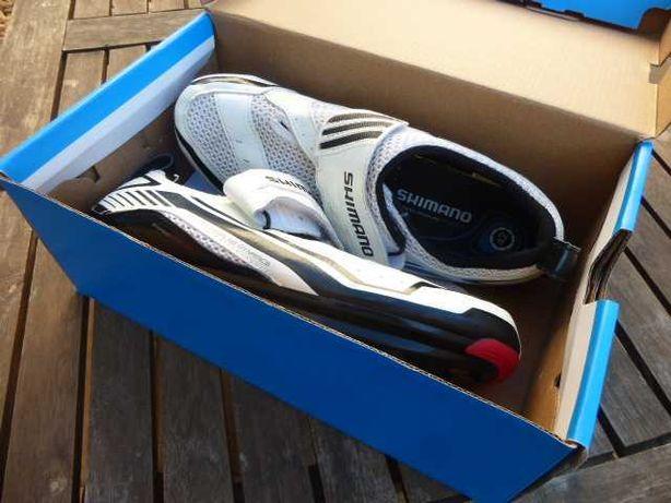 Sapato ciclismo triatlo Shimano
