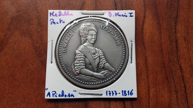 Medalha de Prata de D. Maria I, A Piedosa