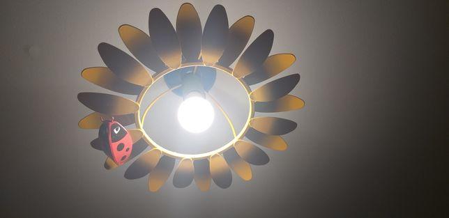 Lampa wisząca dziecięca słonecznik