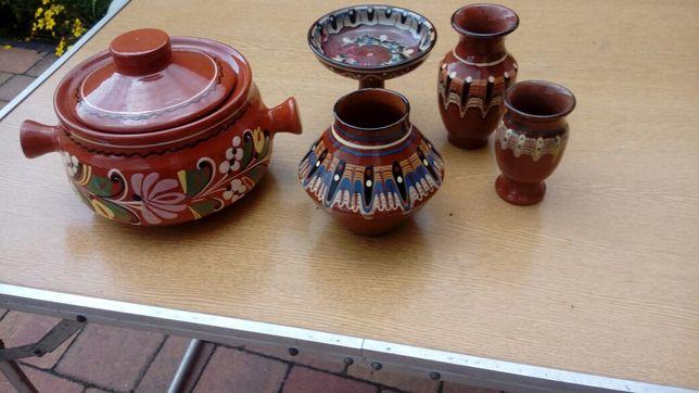 Zestaw ceramiki bułgarskiej