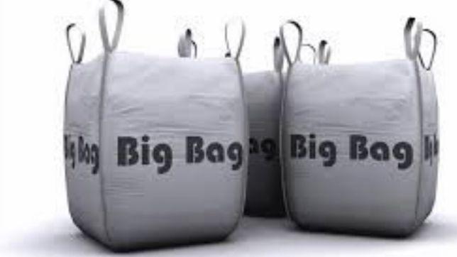 NOWE Worki Big Bag Bagi 75/75/74 PŁASKIE dno BigBag WYSYŁKA cała PL