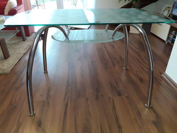 Stół szklany 120×70