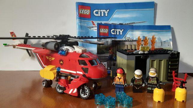 Lego City 60108 Пожарная команда лего сити