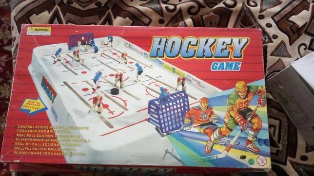 Настольный хоккей с маленьким изьяном