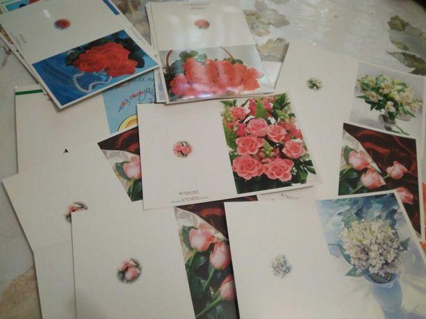Открытки на разные случаи(день рождения,цветы)