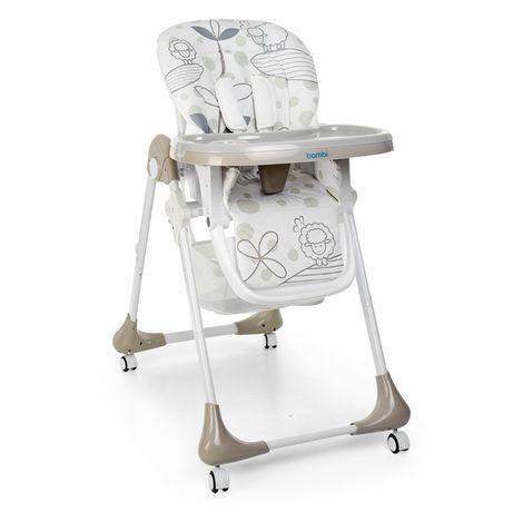Детский стульчик для кормления трансформер Bambi М3233 на колесиках