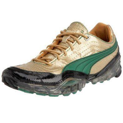 Puma 43 Cell Meio Matallic Croc 28 cm Usain Bolt Gold sneakersy złote