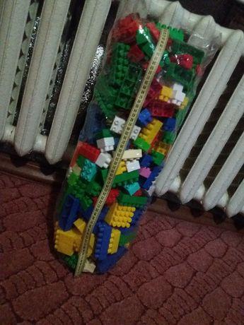 Конструктор детский большой пакет крупные детали 2,7кг