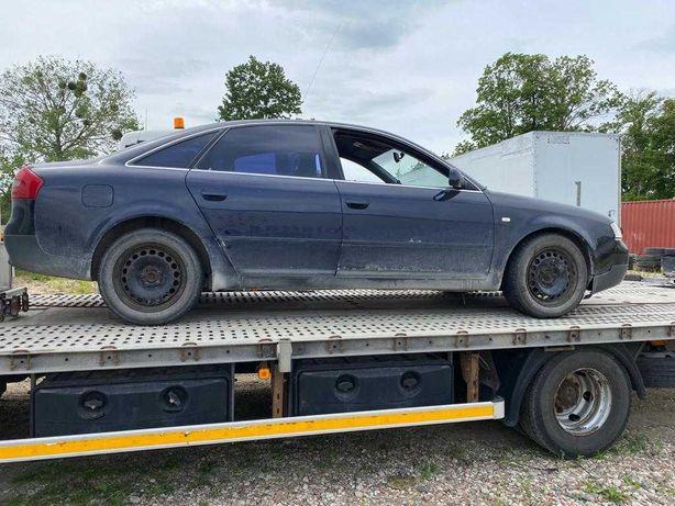 Audi A6C5 uszkodzony, sprzedam w całości.