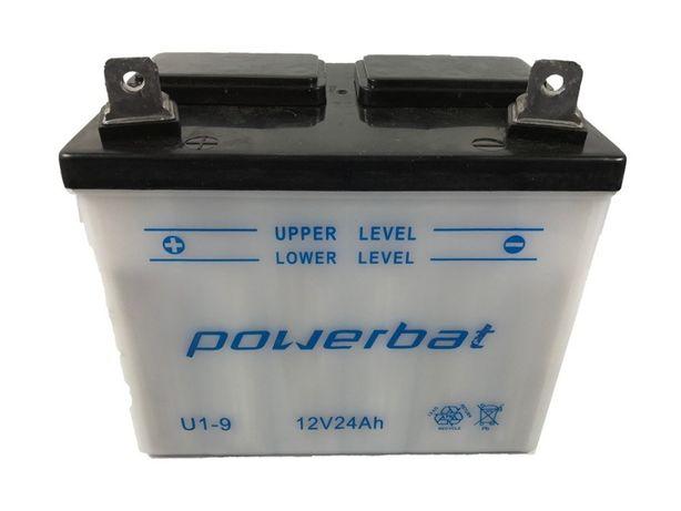 Akumulator 12V 24Ah POWERBAT U1-9