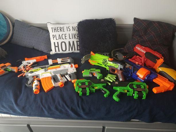 Kolekcja pistoletów Nerf