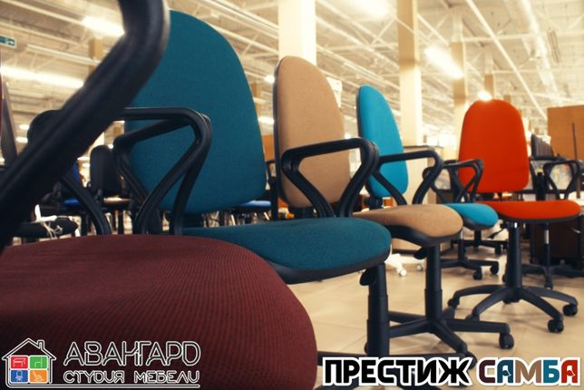 """Офисное компьютерное рабочее кресло в офис """"Престиж Самба"""""""