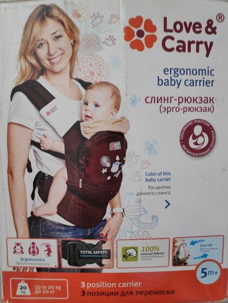 Love&Carry Эрго-рюкзак