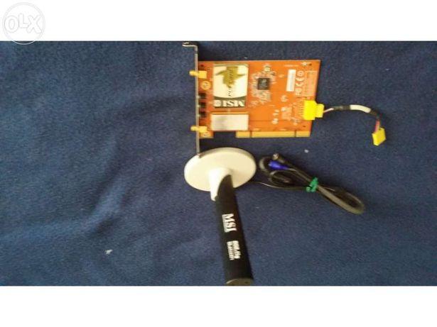 """""""PC Secretária"""" Placa PCI MSI com Wireless e Bluetooth"""