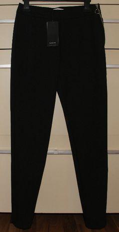 Spodnie nowe damskie RESERVED czarne cygaretki, rozmiar 34