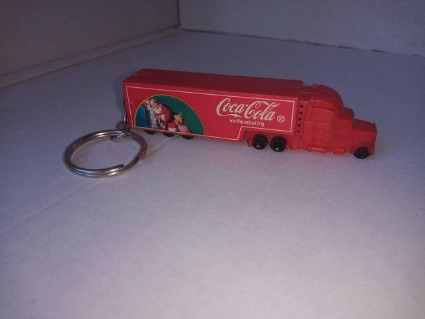 Brelok tir Coca-Cola grający