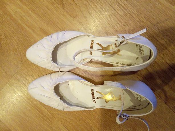 Buty ślubne białe 36 stan dobry