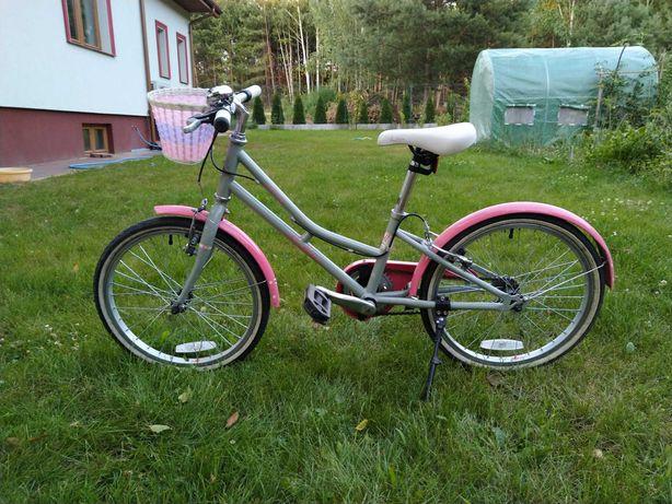 Rower dziecięcy dla dziewczynki 5-7 lat