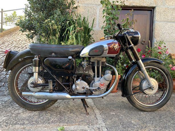 Matchless G3LS - 350cc de 1956