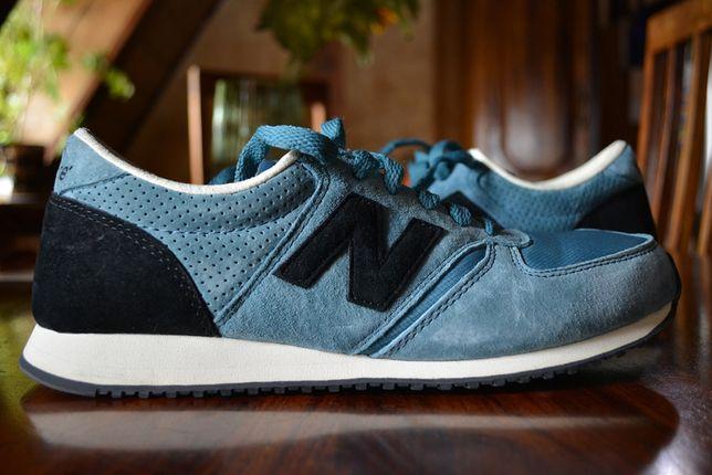 Buty New Balance U420PK - niebieskie sneakersy - rozmiar 41,5