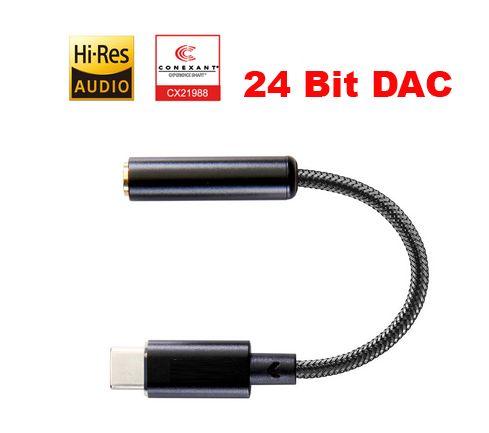 ЦАП для смартфонов CE0163 (Charmtek tpr11) USB type-C усилитель 24/96k