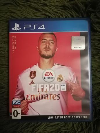 Диск FIFA 2020 (Blu-ray, Russian version) для PS4