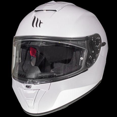 Wyprzedaż Kask integralny MT Helmets BLADE 2SV biały rozm. XS-XXL