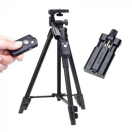 Штатив с Bluetooth пультом для телефона смартфона камеры фотоаппарата