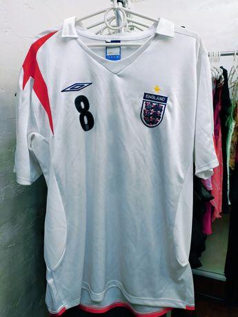 Wyprzedaż!!! Koszulka piłkarska Umbro (Lampard nr 8) rozm. XL
