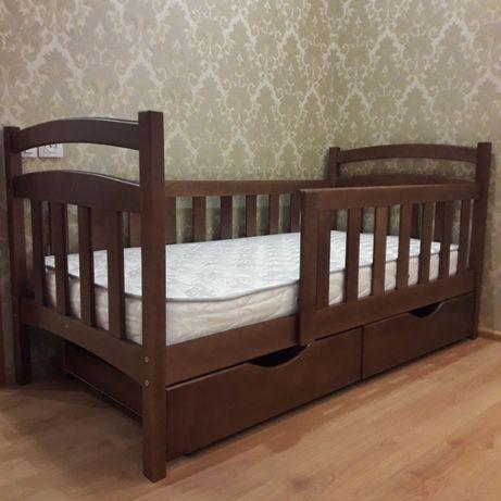 Детская кровать - кроватка с дерева, купить новую мебель в детскую