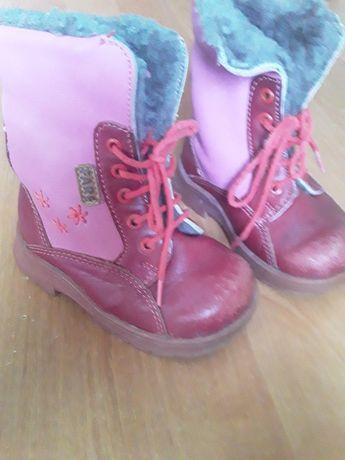 Зимние ботиночки 20р